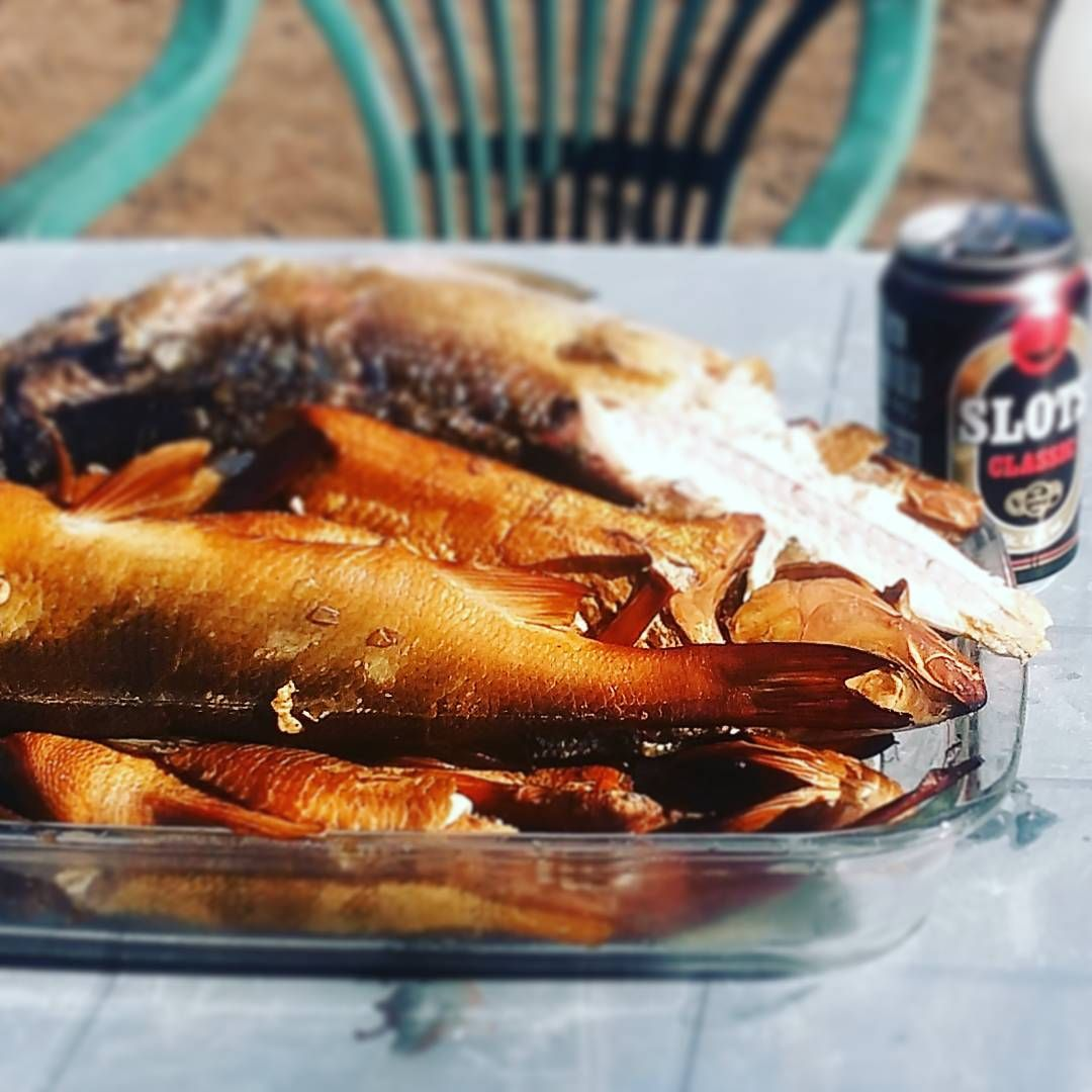Smoked fish for dinner! fish finland bromarf instafish