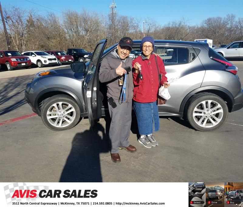 Happy Anniversary To Dora On Your Nissan Juke From Joe George At Avis Car Sales Mckinney Anniversary Aviscarsalesmckinney Cars For Sale Car Car Buying