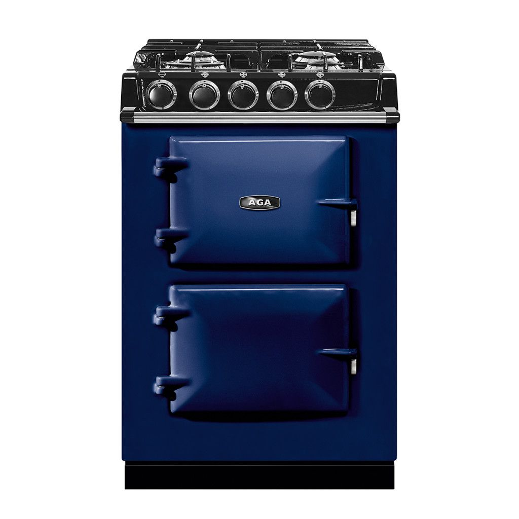 The new AGA City 24 Dual Fuel has the same iconic cast iron ovens with the added flexibility of four powerful gas top burners! Visit AGA-ranges.com