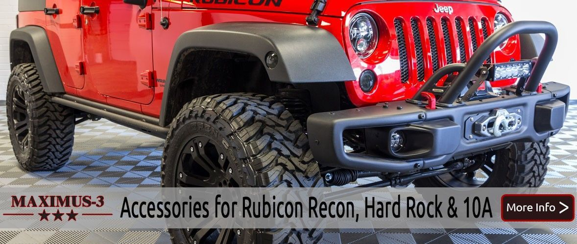 Rubicon Hard Rock X 10a Accessories By Maximus Jeep Wrangler