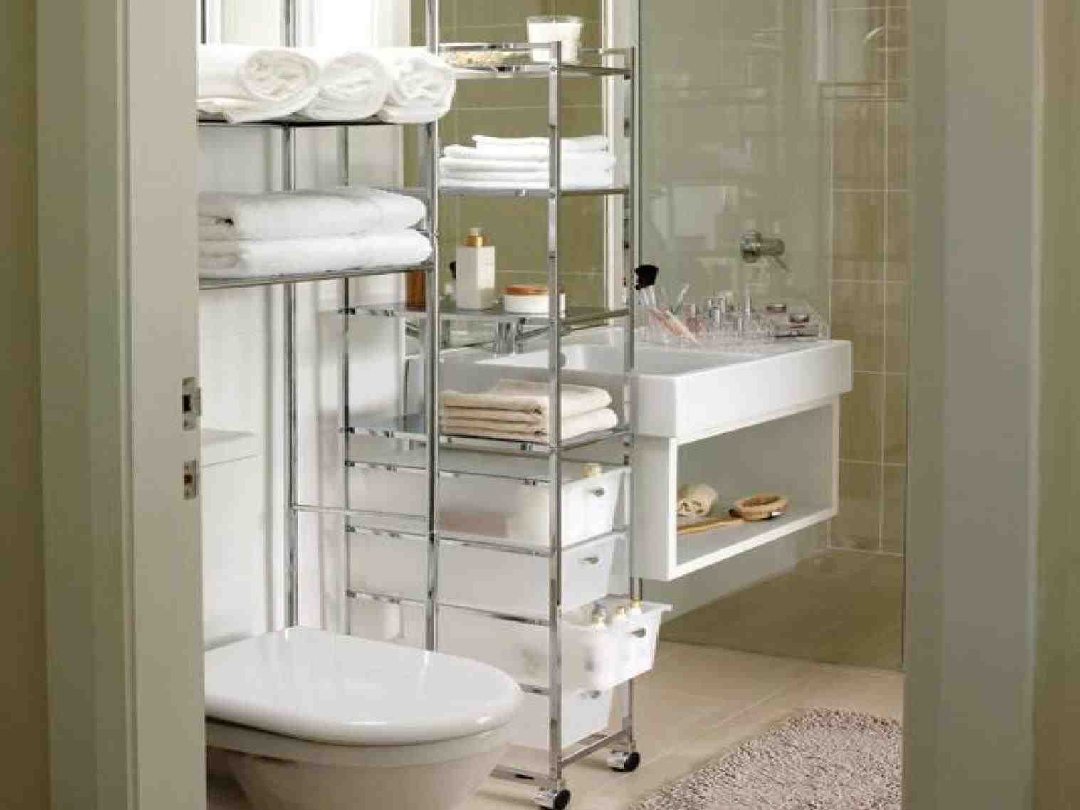 New Diy Bathroom Storage Tower At 16 Info