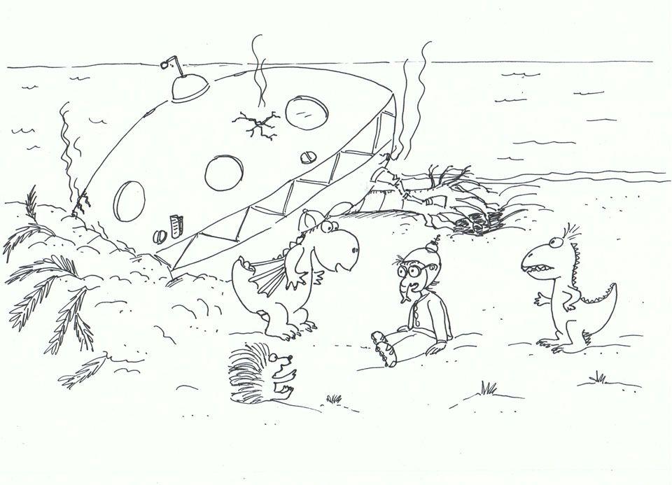der kleine drache kokosnuss ausmalbilder zum ausdrucken