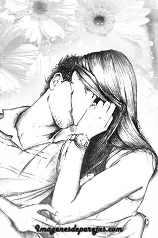 Dibujos De Parejas Enamoradas A Lápiz Y De Anime Art In 2019