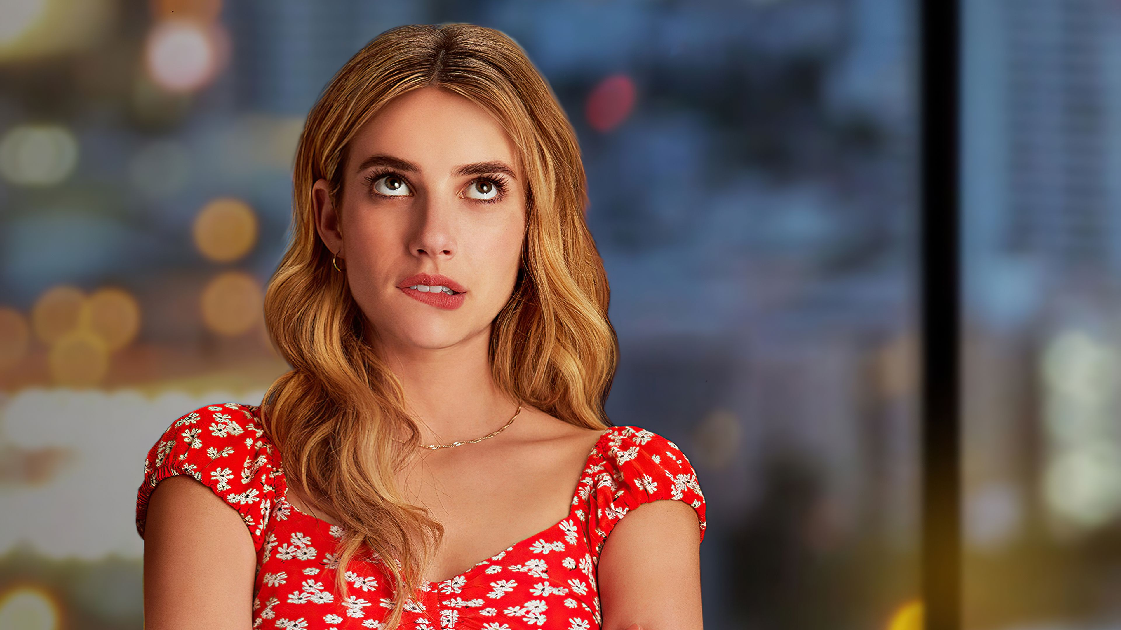 Holidate 4k Holidate 4k Wallpapers In 2021 Celebrity Wallpapers Emma Roberts Celebrities