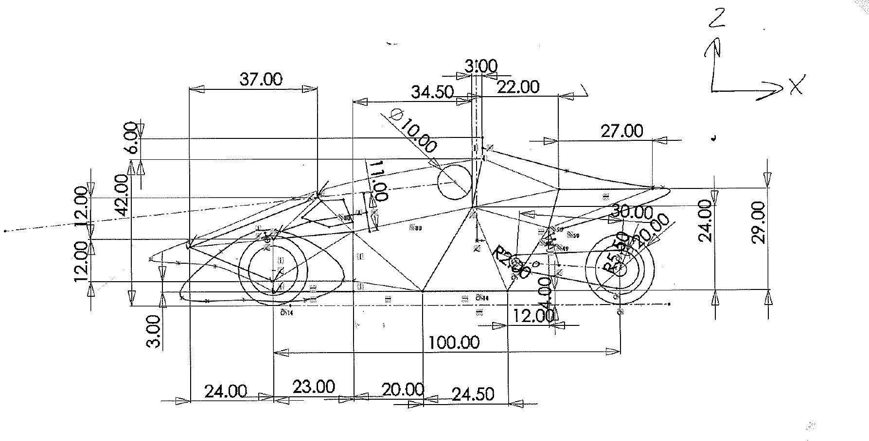 car frame diagram for pinterest