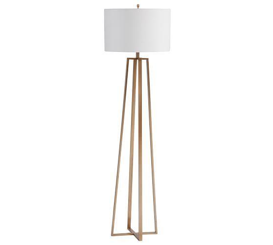 Carter Floor Lamp In 2019 Cool Floor Lamps Floor Lamp