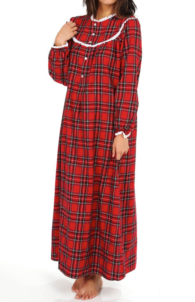 Got this exact same nightgown as a Christmas gift. Wore it thread bear. Lanz  of Salzburg Lace Trim Yoked Collar Gown 85c8dffda