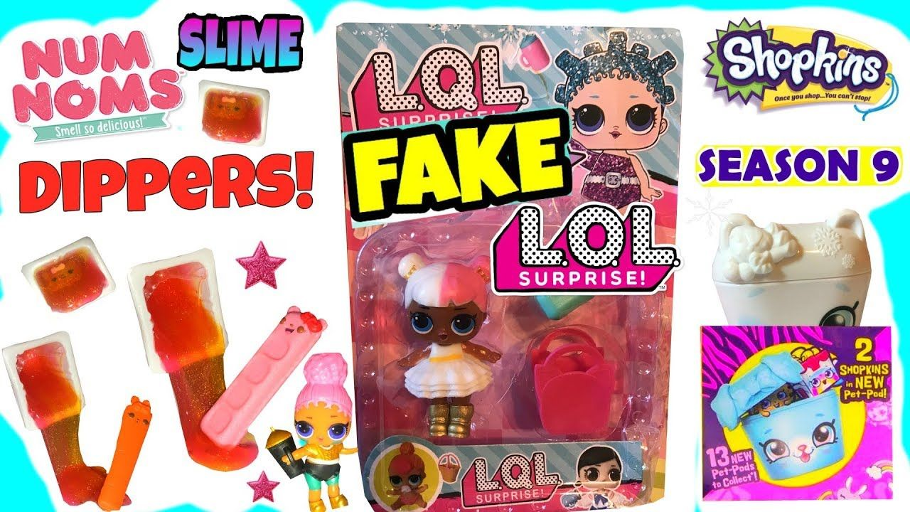 Slime Dippers Color Changing Scented Num Noms Shopkins Wild