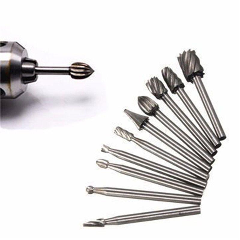 10 Pcs/Set High Speed Cutter Bit Set For Dremel Rotary Tools