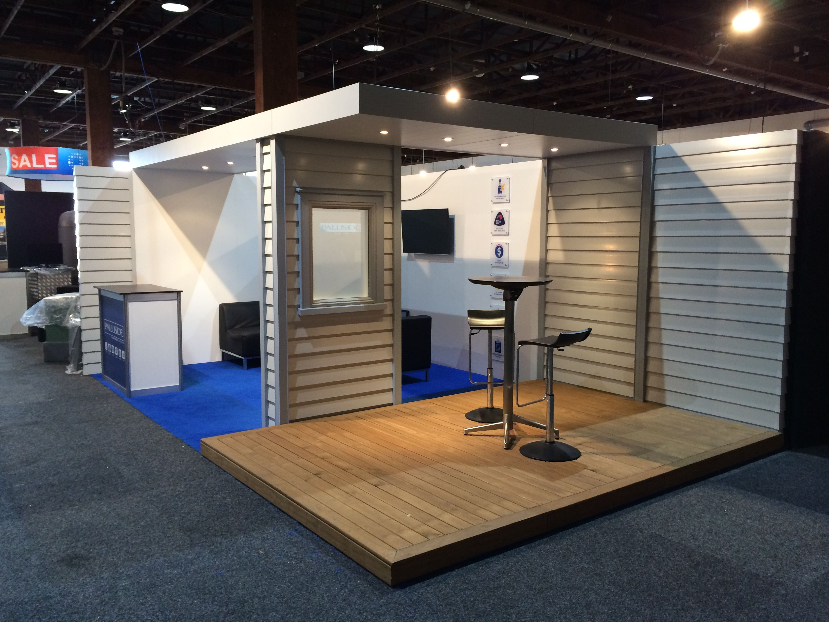 Exhibition Stand Lighting Nz : Dynex extrusions palliside stand at the auckland homeshow