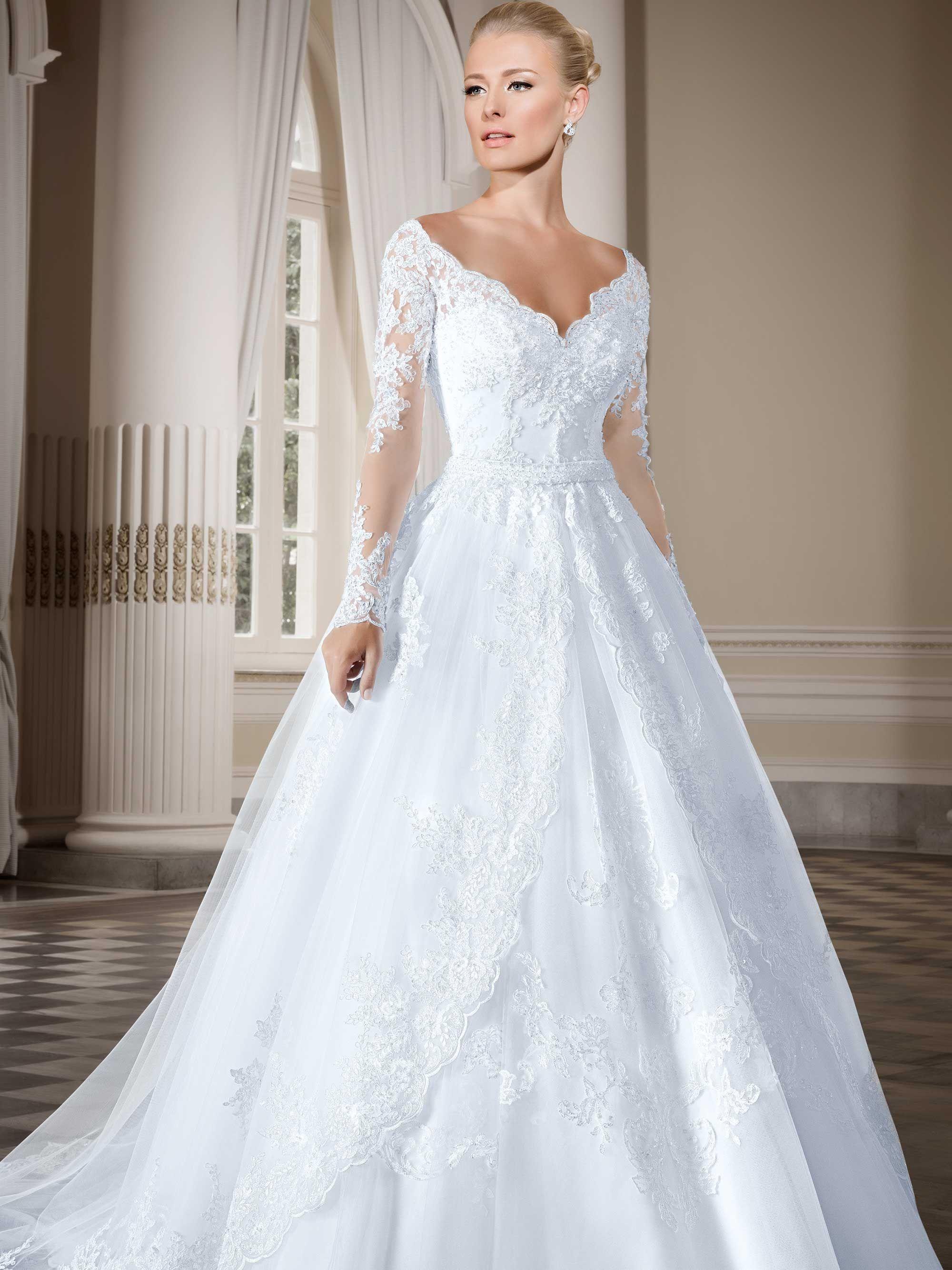 42da1c76e7 Vestidos de noiva - Coleção Callas (5) Frente completo
