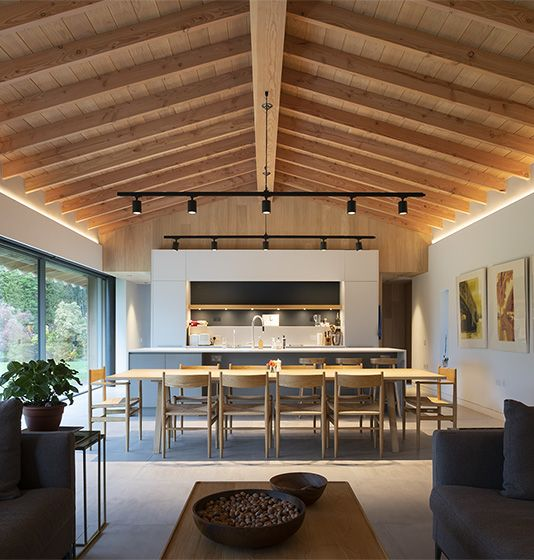 Kent Downs House | The Kent Downs, Kent - McLean Quinlan Architects | London & Winchester