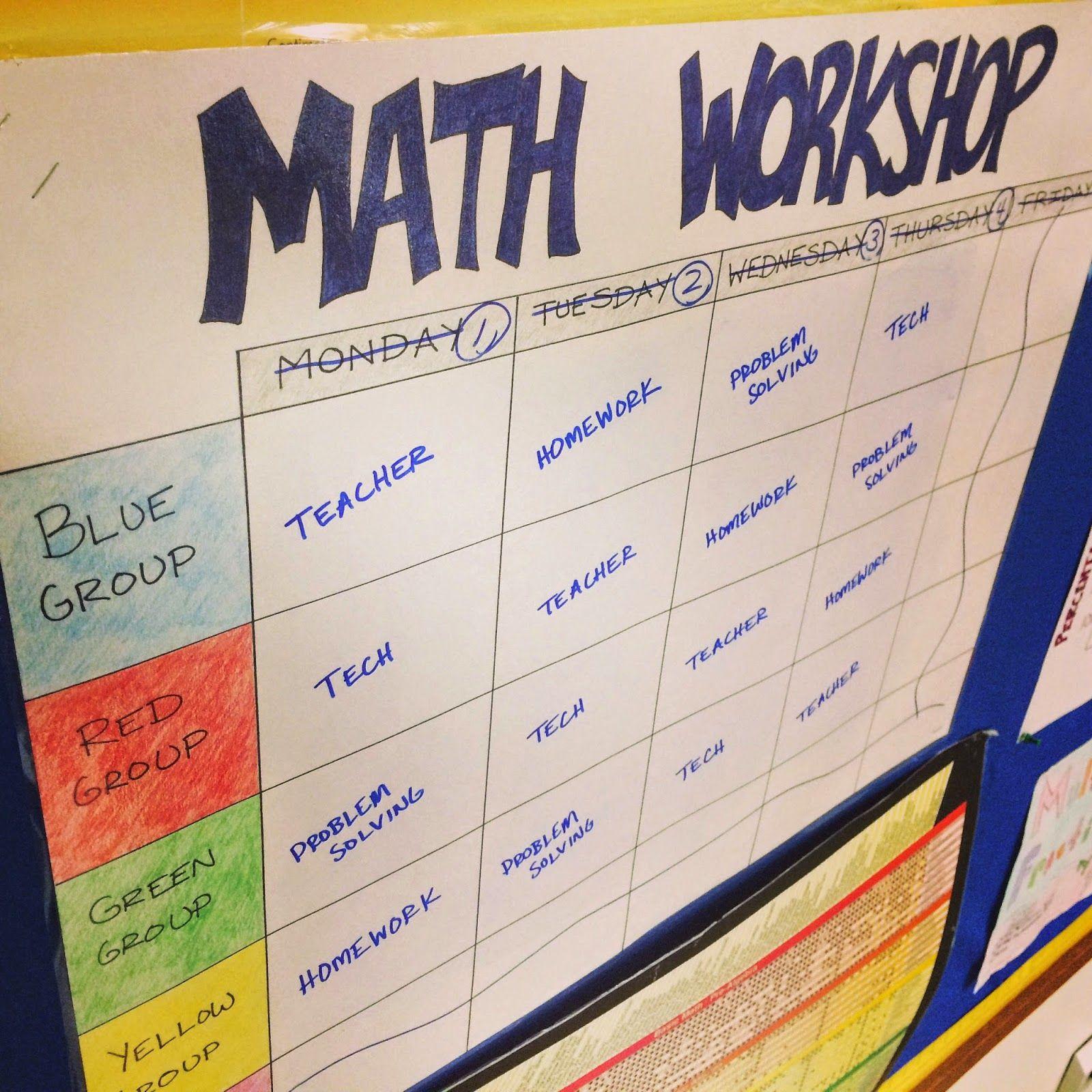 Making Math Workshop Work