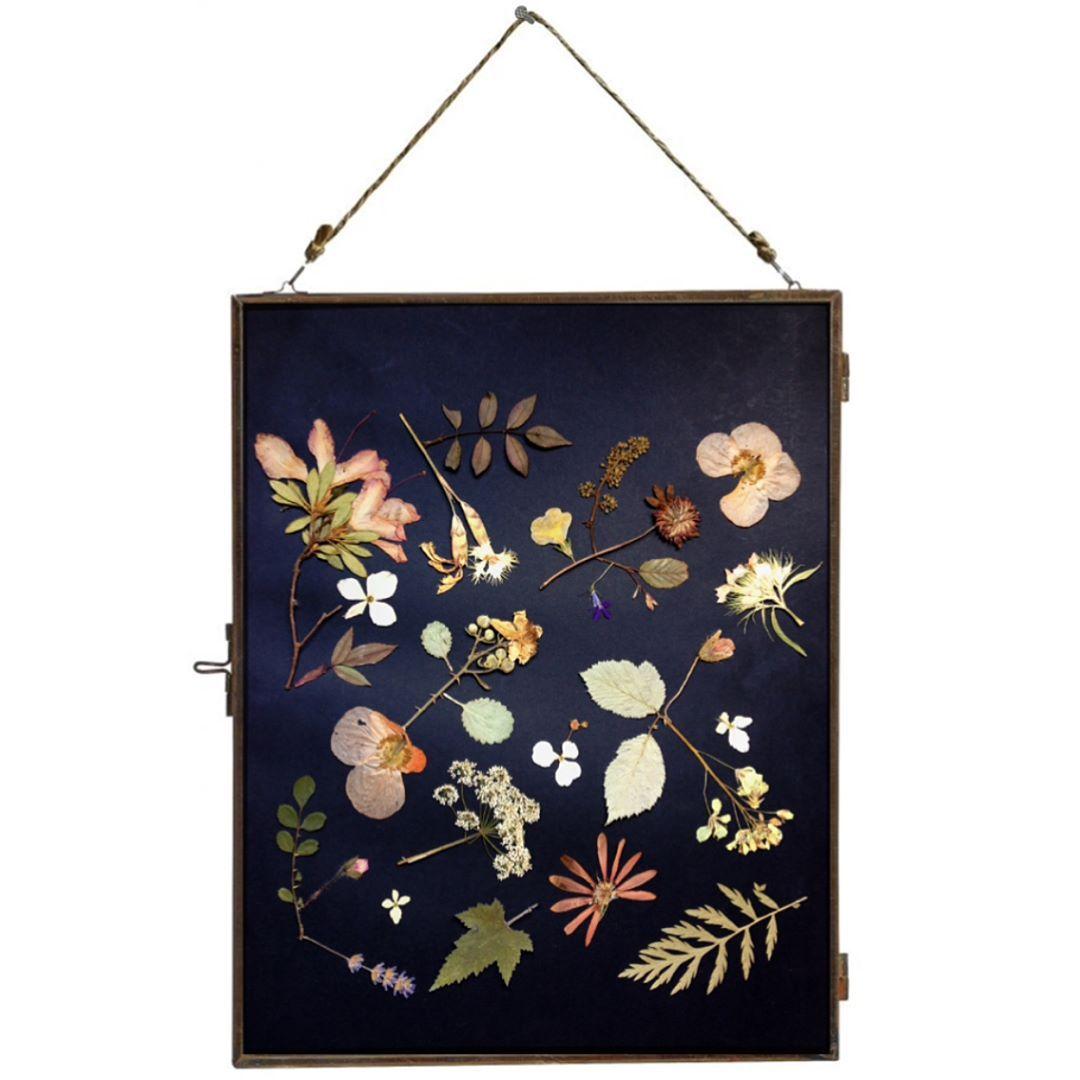 I love #driedbotanicals on a dark background. Day 14 of my #100daysofbotanicalcollages #the100dayproject2017