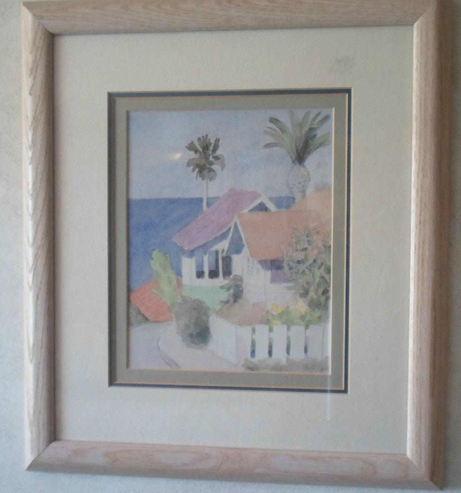 Beautiful William Buffett Framed Art