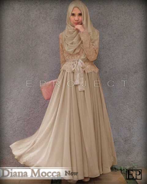Contoh baju muslim modern terbaik model terbaru | Gaya ...
