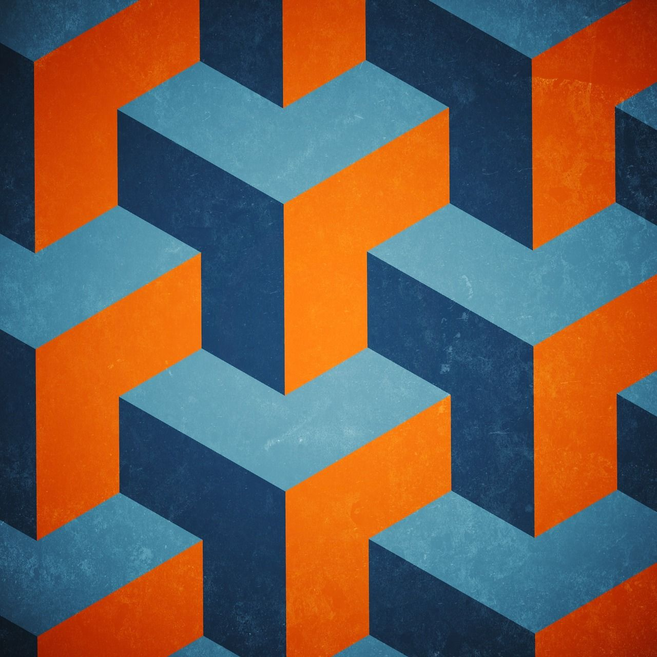 Seamless isometric graphic pattern | Patterns & Prints ...