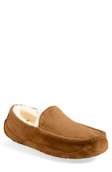 37666955e44 UGG®  Ascot  Suede Slipper (Men) available at  Nordstrom