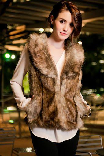 Windsor Faux Fur Vest