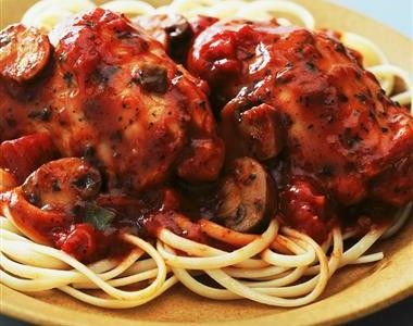 Crock Pot Mushroom Chicken Parm - Thanks to the Crock Pot Girl!  Shes on FB