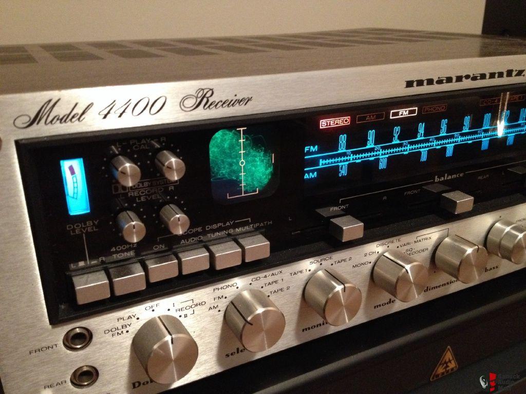 marantz 4400 quadraphonic receiver quadraphonic stereo. Black Bedroom Furniture Sets. Home Design Ideas