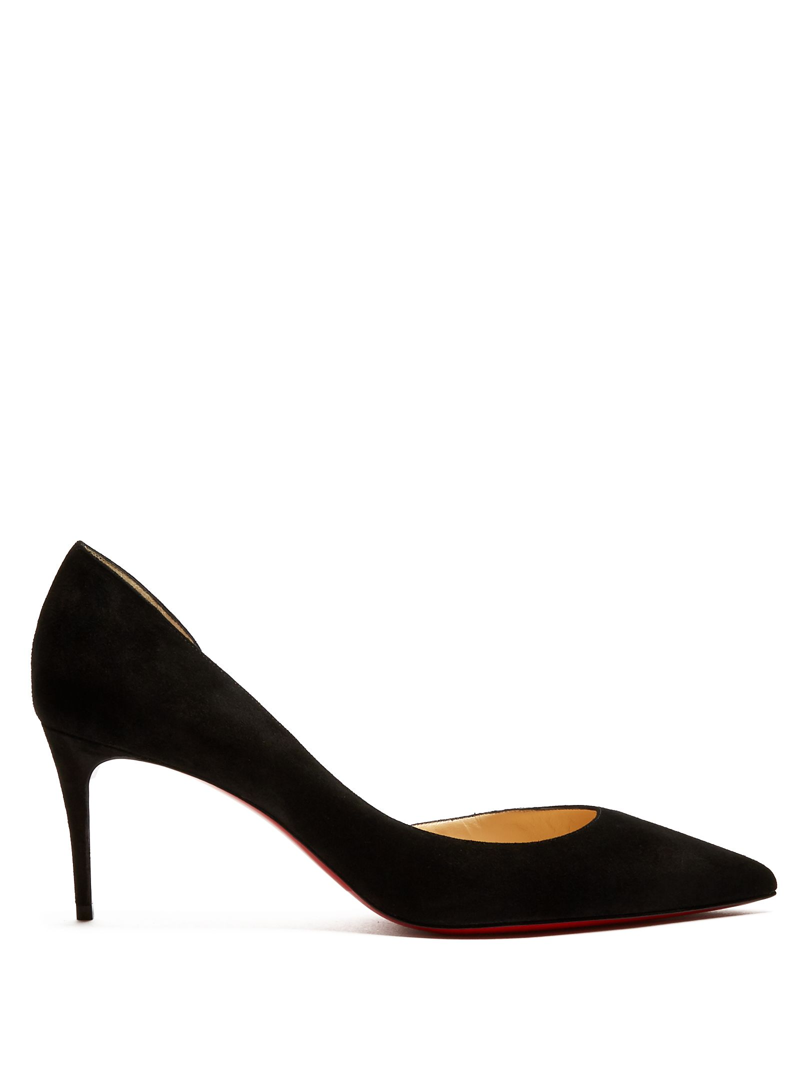 info for 04430 4bd29 Click here to buy Christian Louboutin Iriza 70mm suede pumps ...