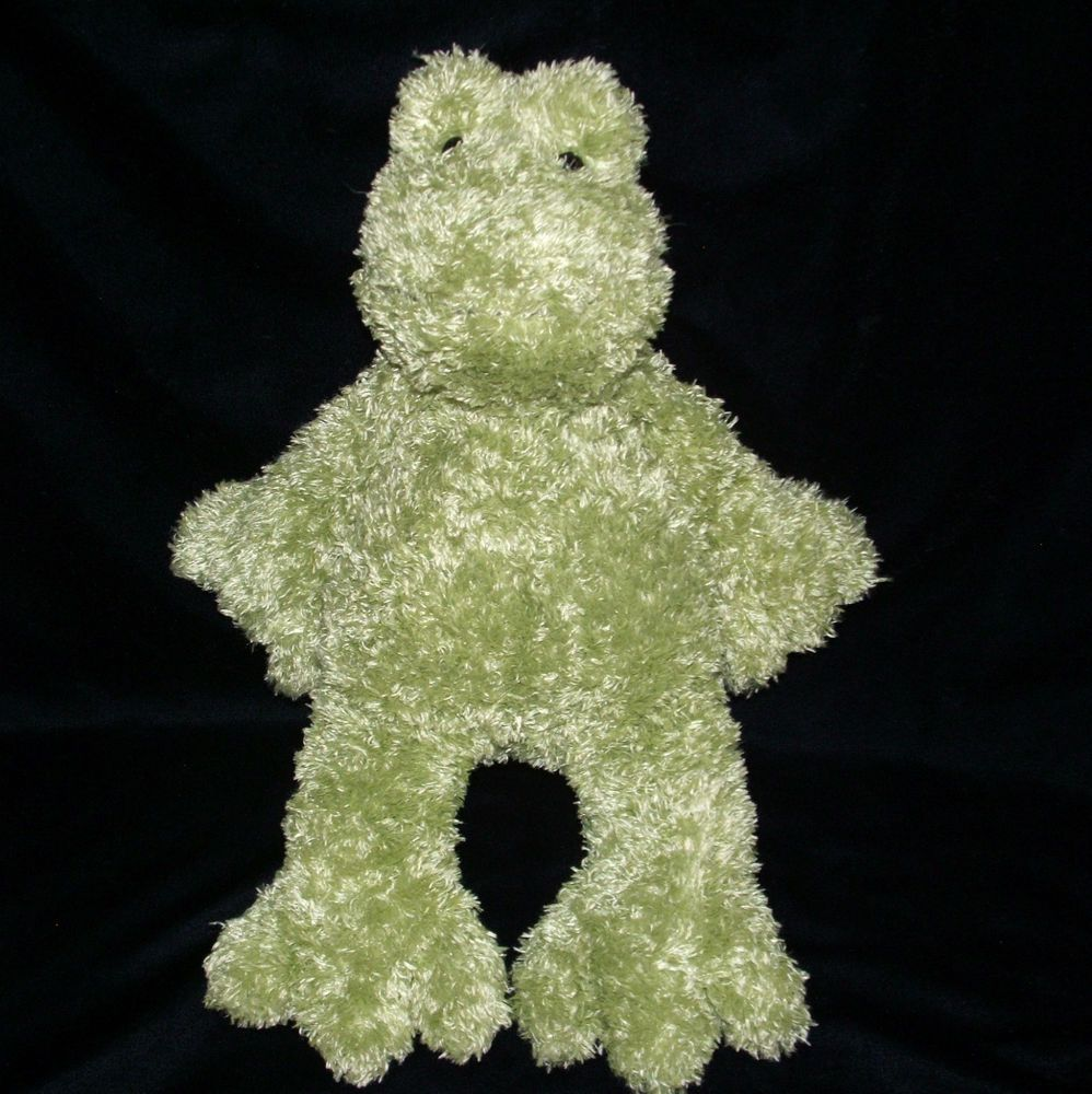 Jellycat 16 Green Frog Bunglie Plush Stuffed Floppy Excellent Condition Jellycat Green Frog Plush