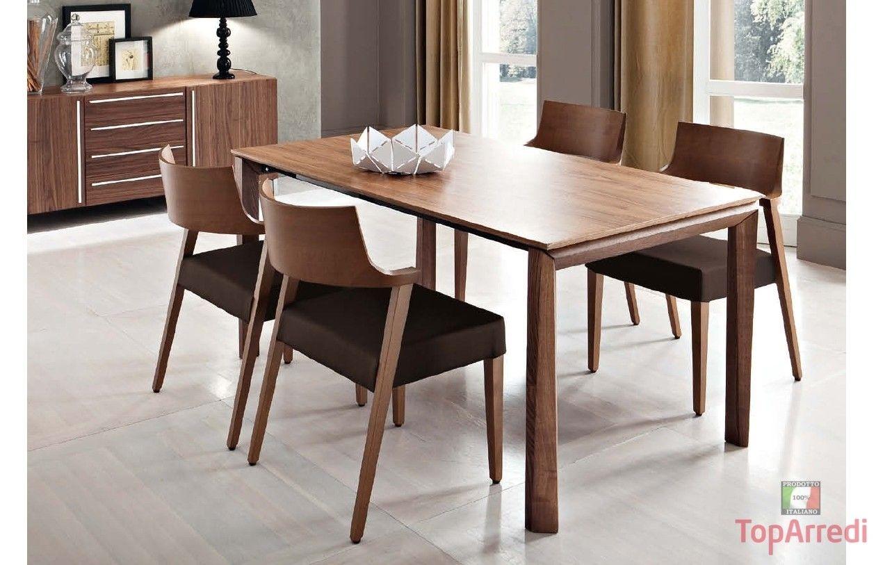Tavolo Da Cucina Con Sedie Per Salotto Sala Allungabile ...