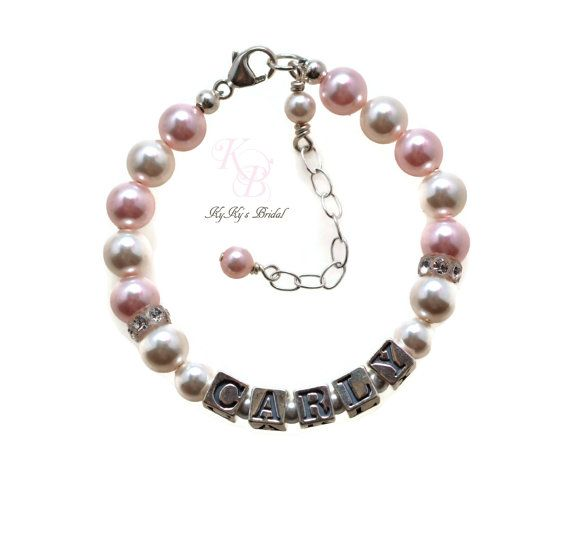 daddy il girl girls by amidesigns jewelry daughter charm pearl little bracelet daddys