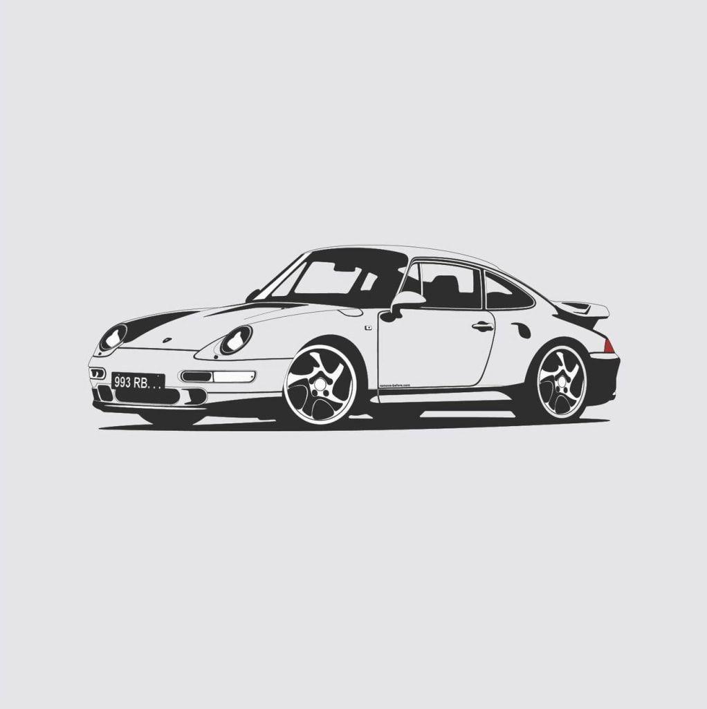 15 Beautiful Illustrations Of Iconic Classic Cars Car Illustration Automotive Artwork Classic Cars