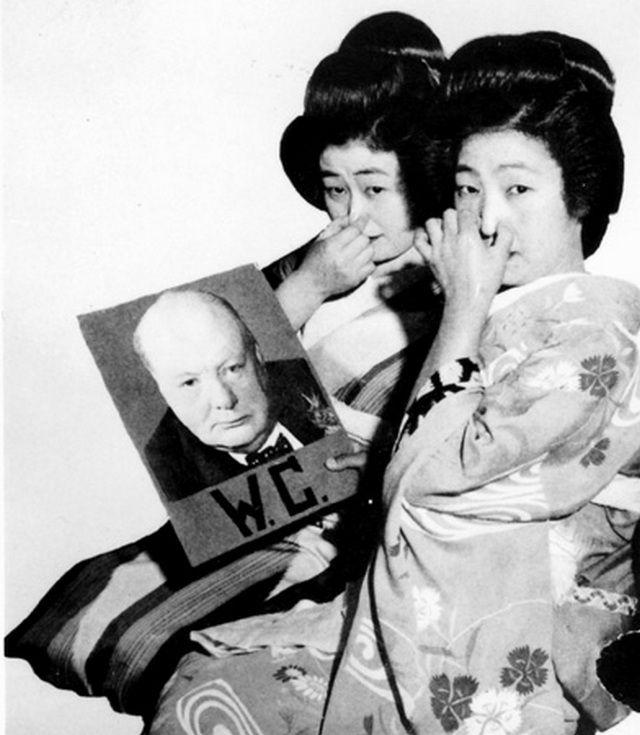 Geisha life during world war ii