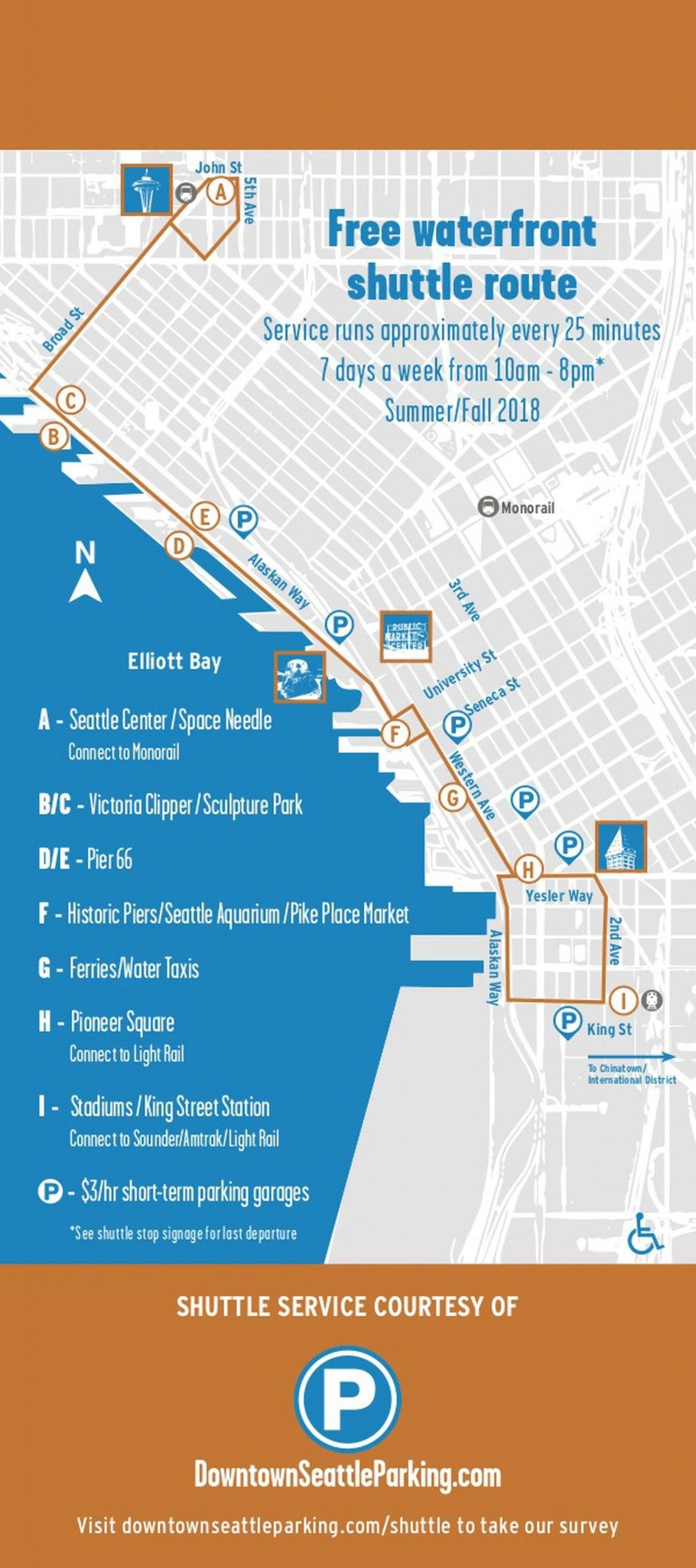 The Newest Seattle Tour Bus is FREE | Places | Seattle waterfront