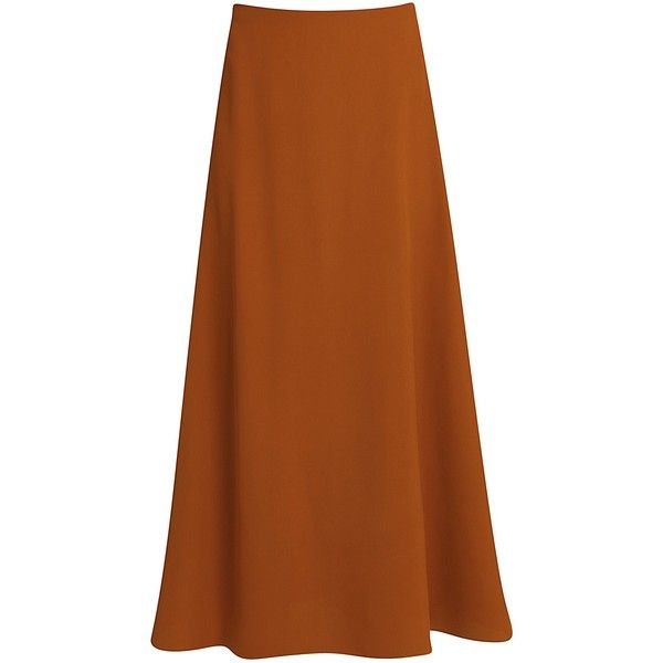 ROSETTA GETTY Midi Flare Skirt (906.600 CLP) ❤ liked on Polyvore featuring skirts, summer midi skirts, midi skater skirt, calf length skirts, midi circle skirt and flared skirt