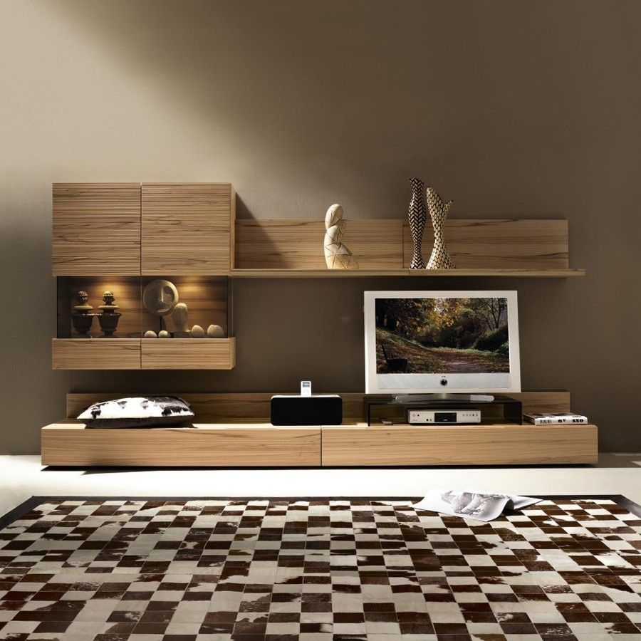 Bedroom Tv Furniture: Pin By Dhruvi Shoby On Tv Wall Units