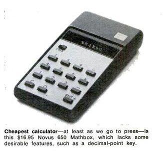 Pocket calculators of the 1970's  | Radio History