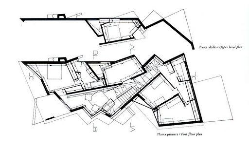 Enric Miralles Bellaterra Casa Garau Agusti Concept Architecture Architecture Design Concept Architecture Presentation