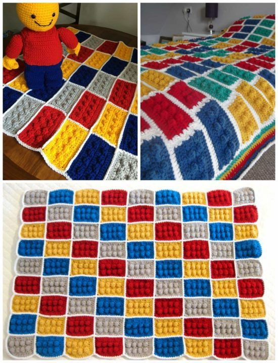 Lego Crochet Blanket Pattern Youtube Video Crochet Lego Crochet