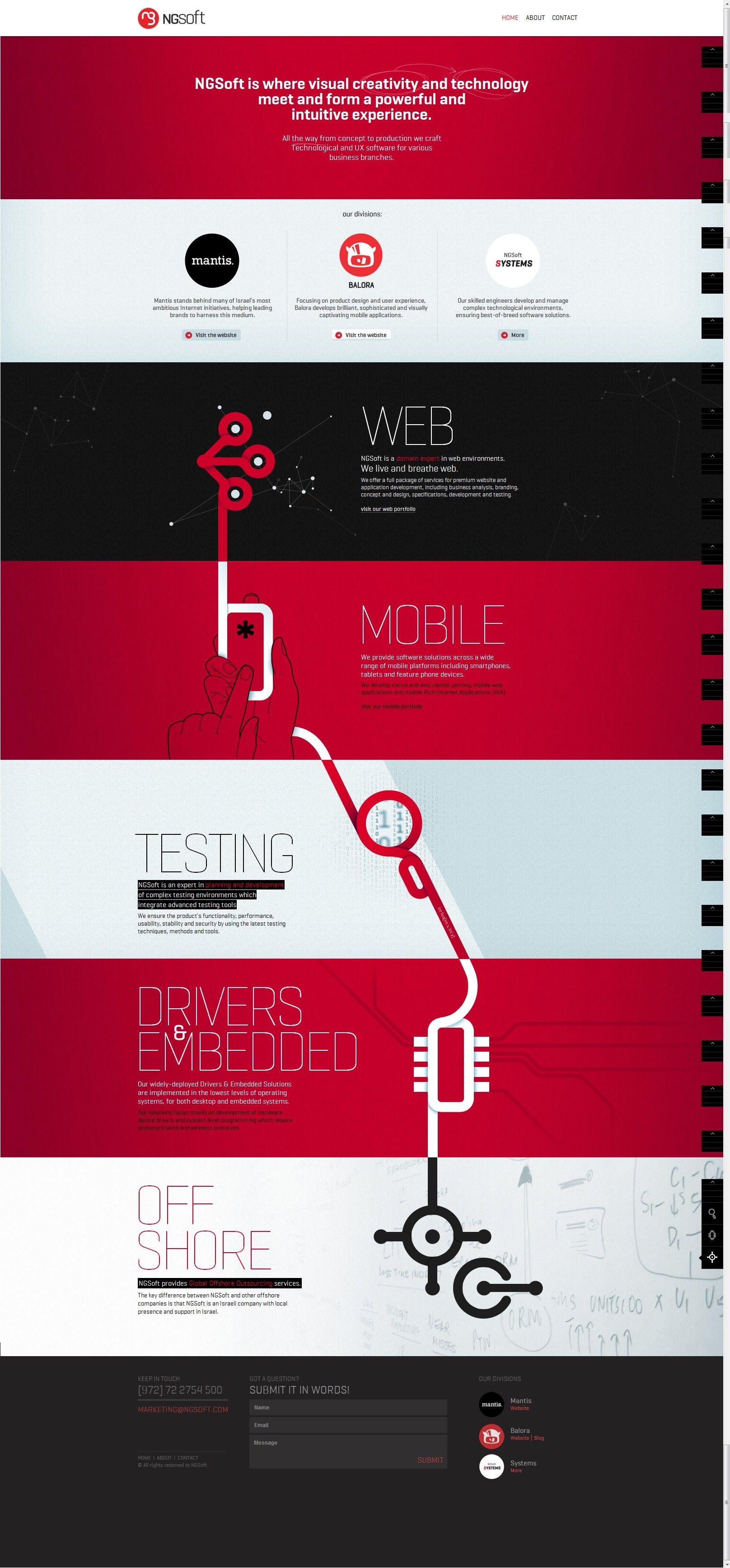 Colorful web design #design #web #development #dojicreative ...
