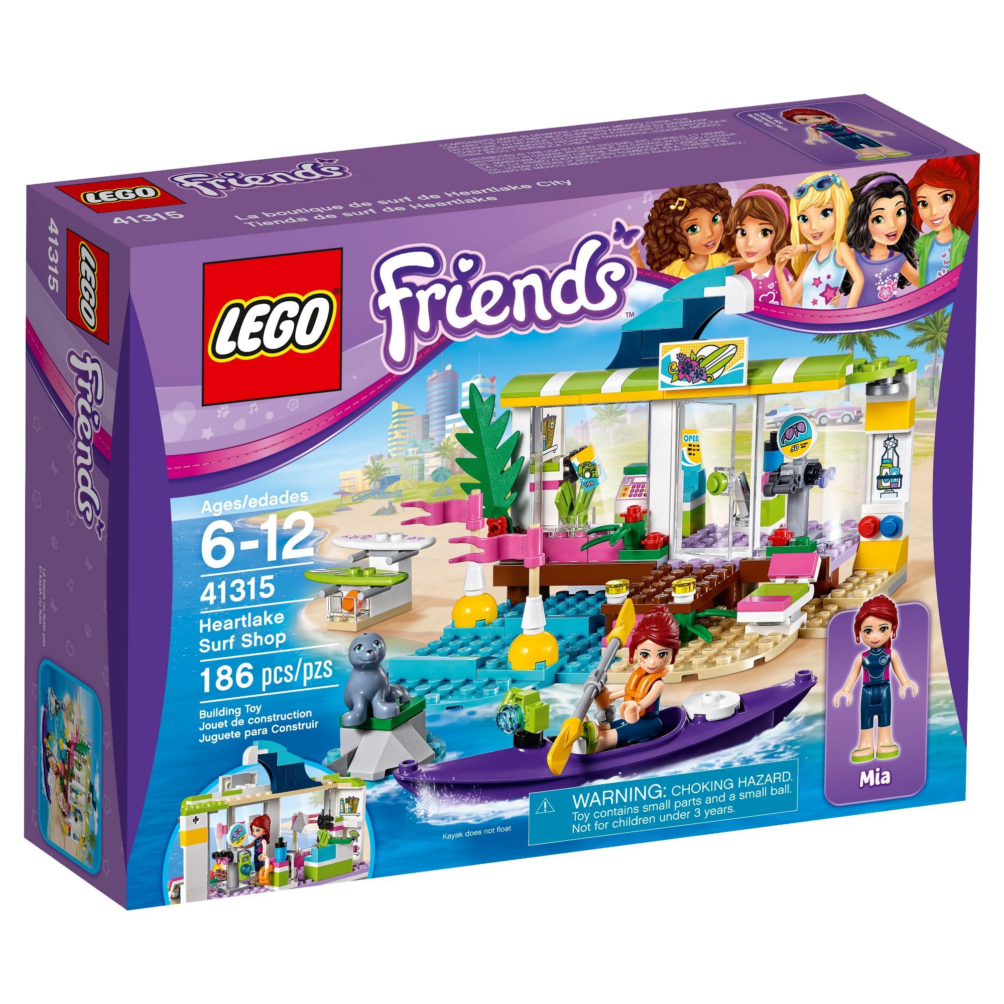 Lego Friends Heartlake Surf Shop 41315 Products Lego Friends