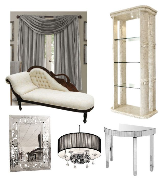 """""""Twenties Trending"""" by serendipityhome on Polyvore featuring interior, interiors, interior design, home, home decor, interior decorating and Elrene Home Fashions"""
