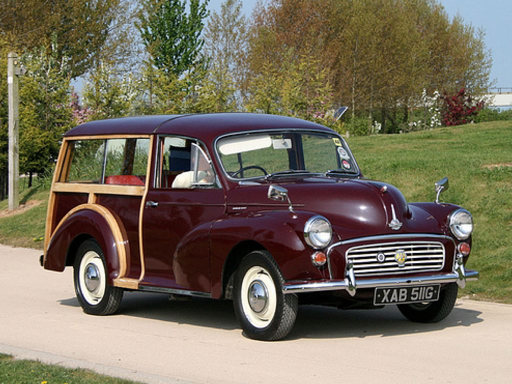 1969 Morris Minor 1000 Traveller   Ride, Sally, Ride ...