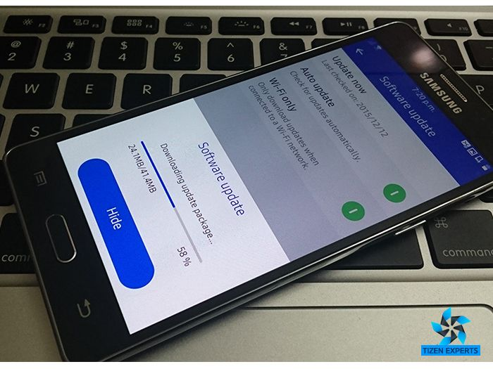 Samsung Z3 gets Software / Firmware Update in India