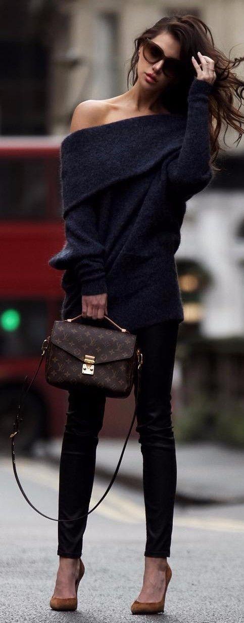 black on black | cashmere jeans
