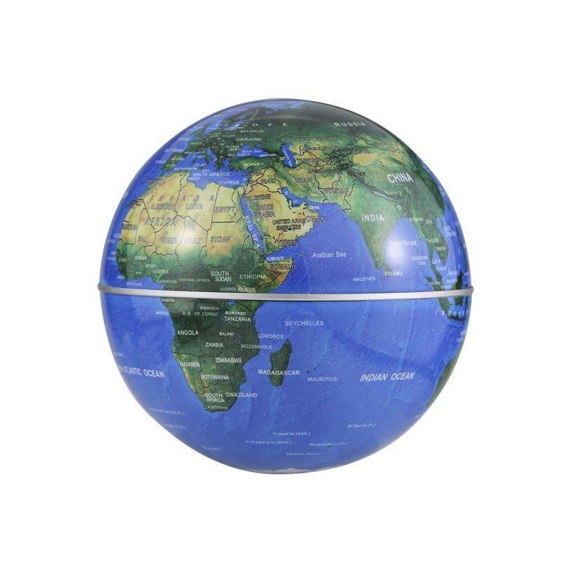 C shape magnetic levitation floating world map globe rotating with c shape magnetic levitation floating world map globe rotating with led light black blue gumiabroncs Image collections