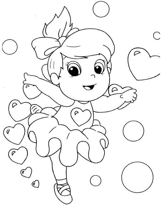 Desenhos Para Colorir De Meninas Melhores Imagens Imprimir E