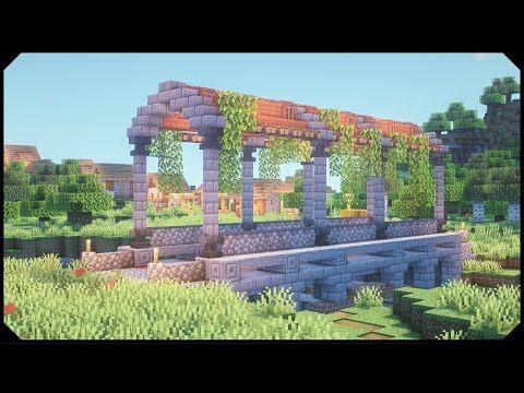 Minecraft: How to build a Bridge [Tutorial]