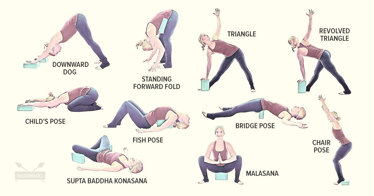 how to use yoga blocks for back pain