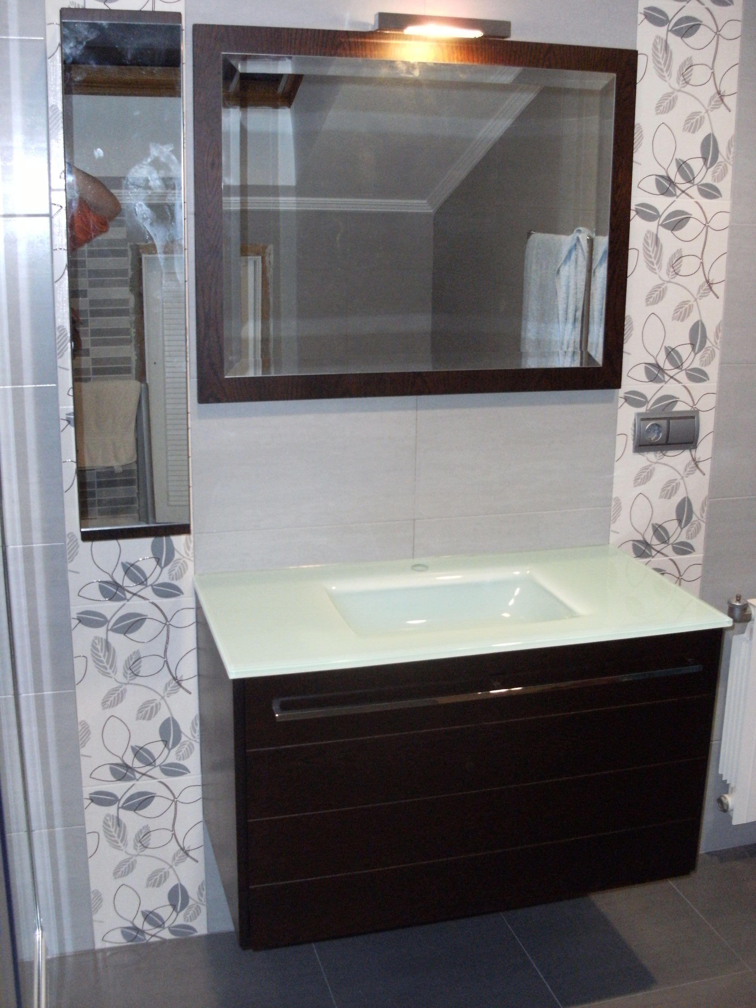 Lavabo y espejo | Muebles de baño, Lavabos, Baños