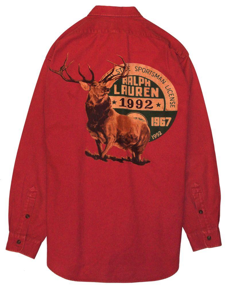 e3cb61e6 Polo Sportsman 1992 Deer Shirt Large | Keep a Lo Profile in 2019 ...