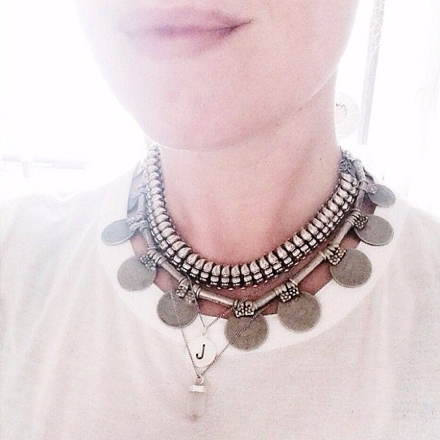 P R O D U C T S // À la Rupaya coins necklace #regram #Àla #coins #necklace #India #treasure #travel #unique Photo made by @justineleenarts ©
